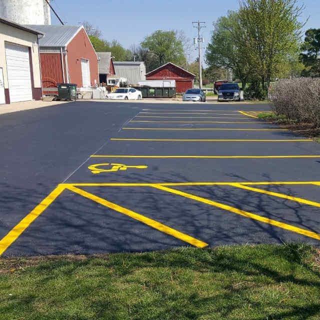 Romeoville, IL Parking Lot Paving